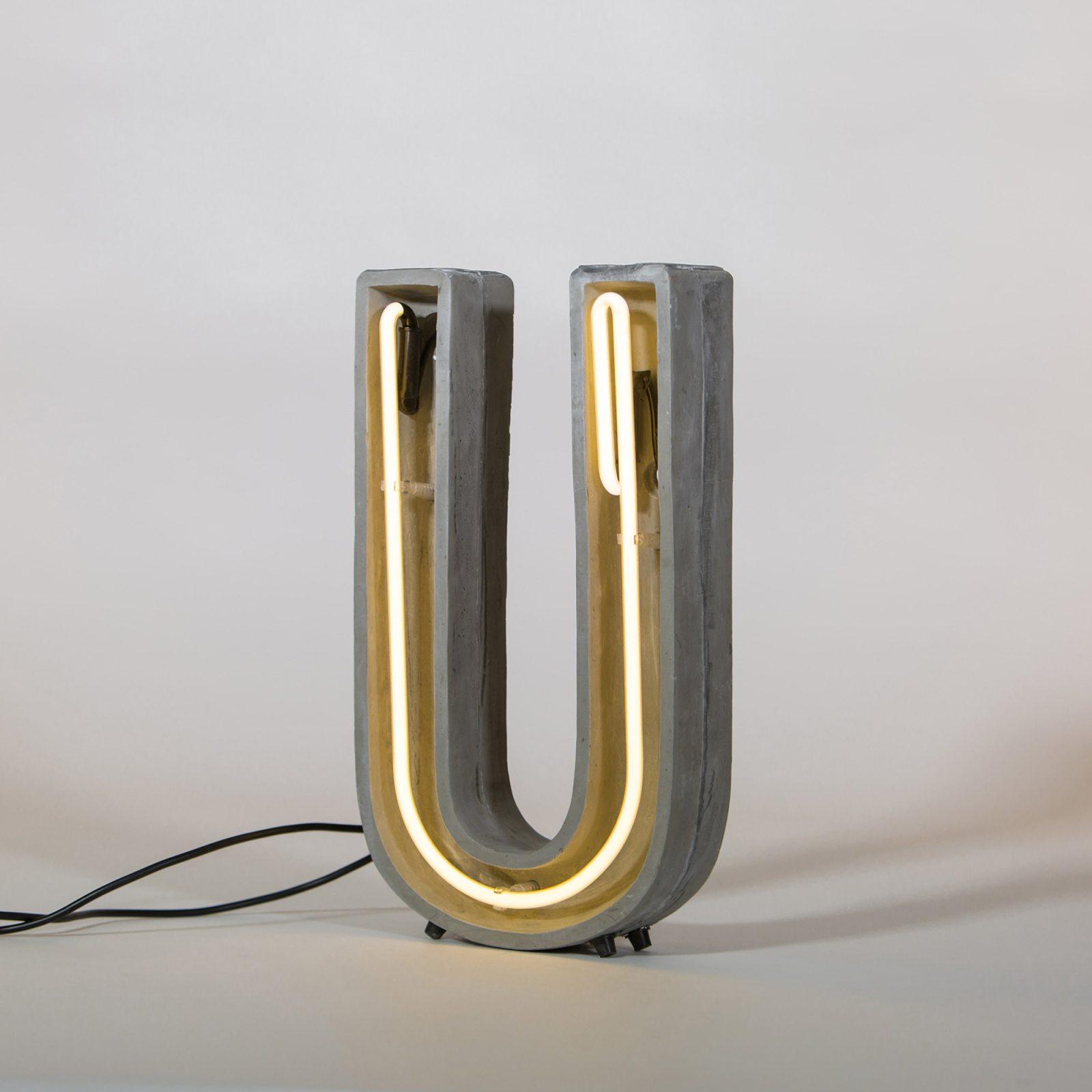 Alphacrete, Concrete Neon Light – U-32261