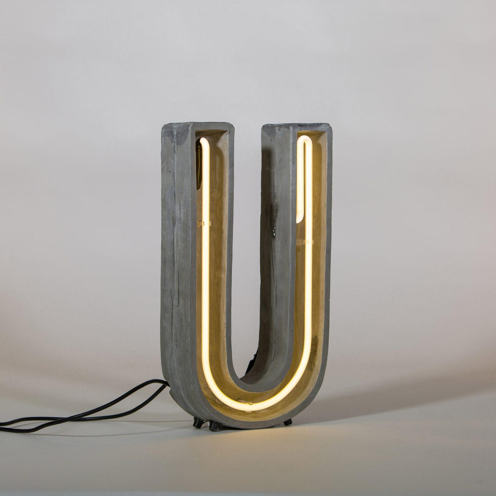 Alphacrete, Concrete Neon Light – U-32260