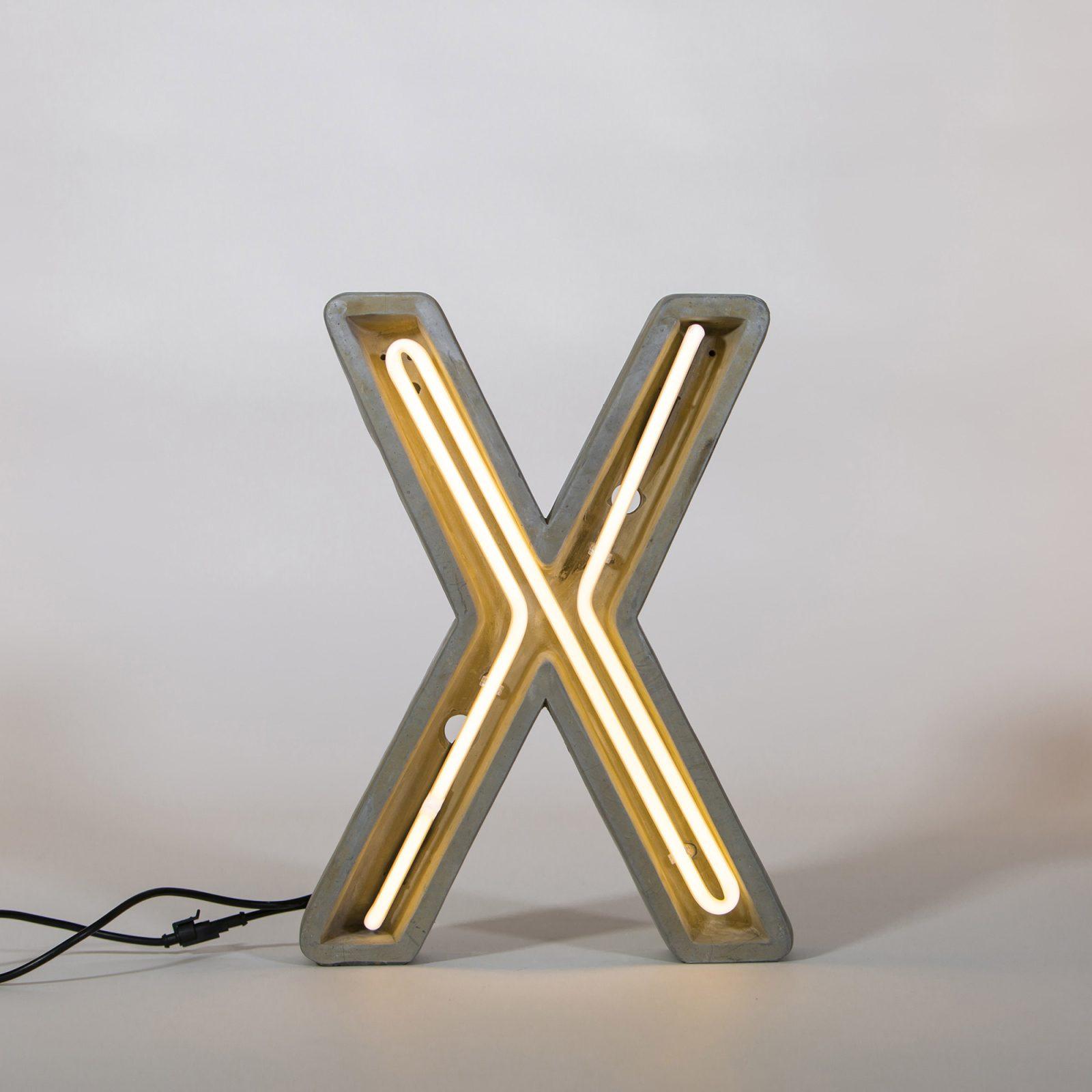 Alphacrete, Concrete Neon Light – X-32279