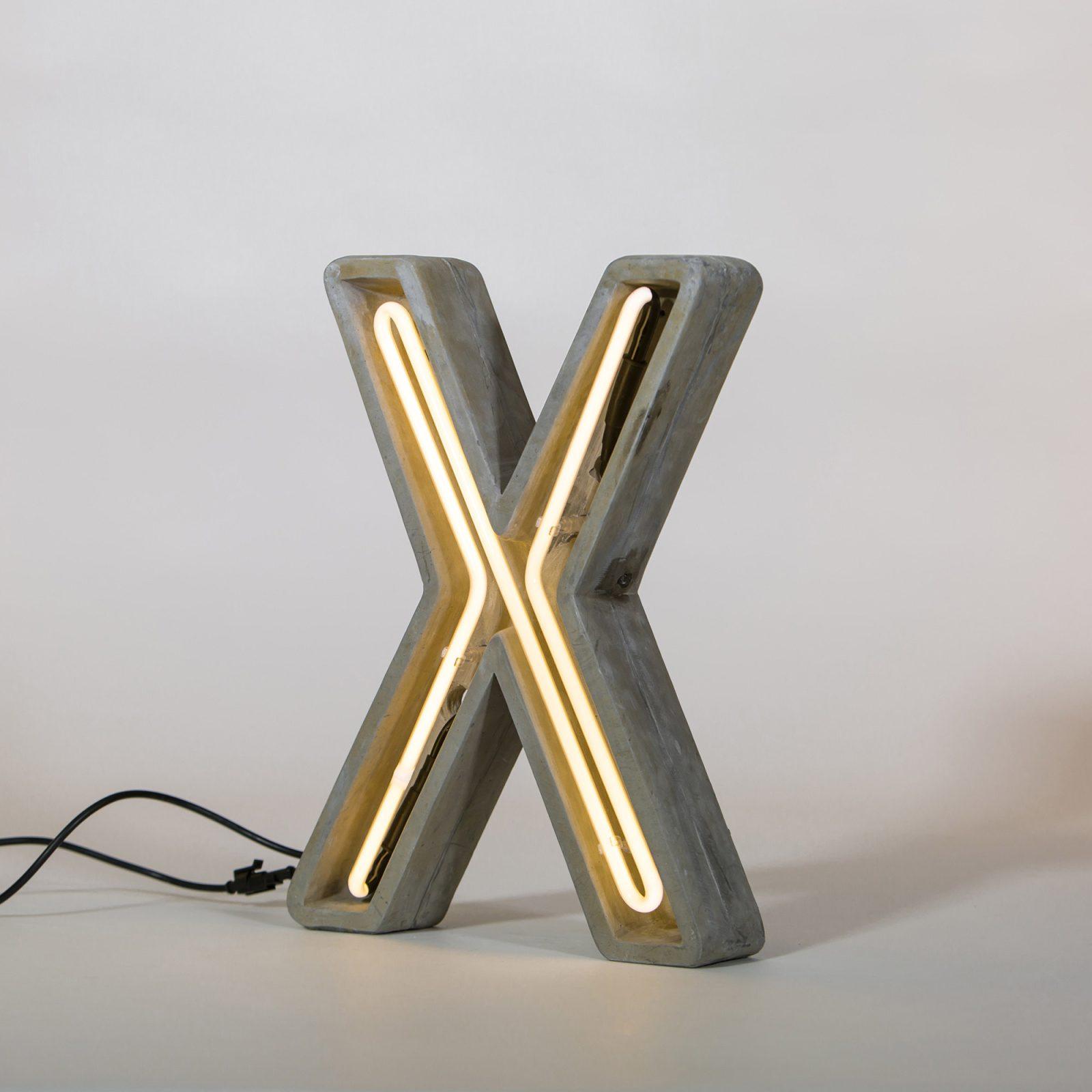 Alphacrete, Concrete Neon Light – X-32278