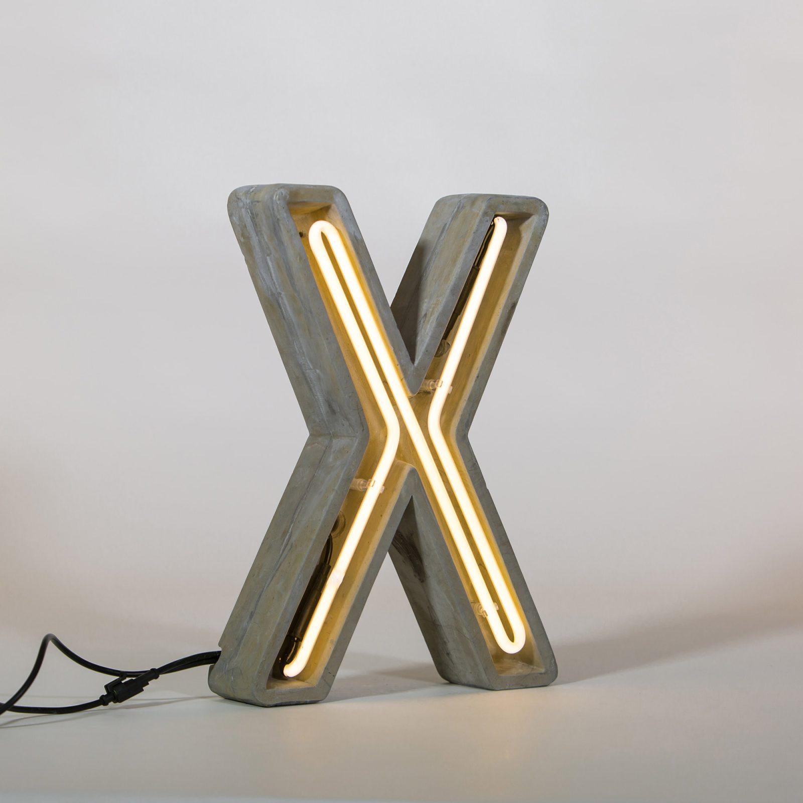 Alphacrete, Concrete Neon Light – X-32281