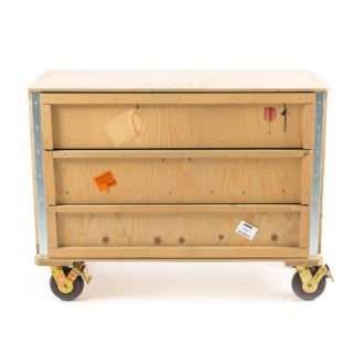 Export Como Chest of 3 Drawers - Wheels-32121