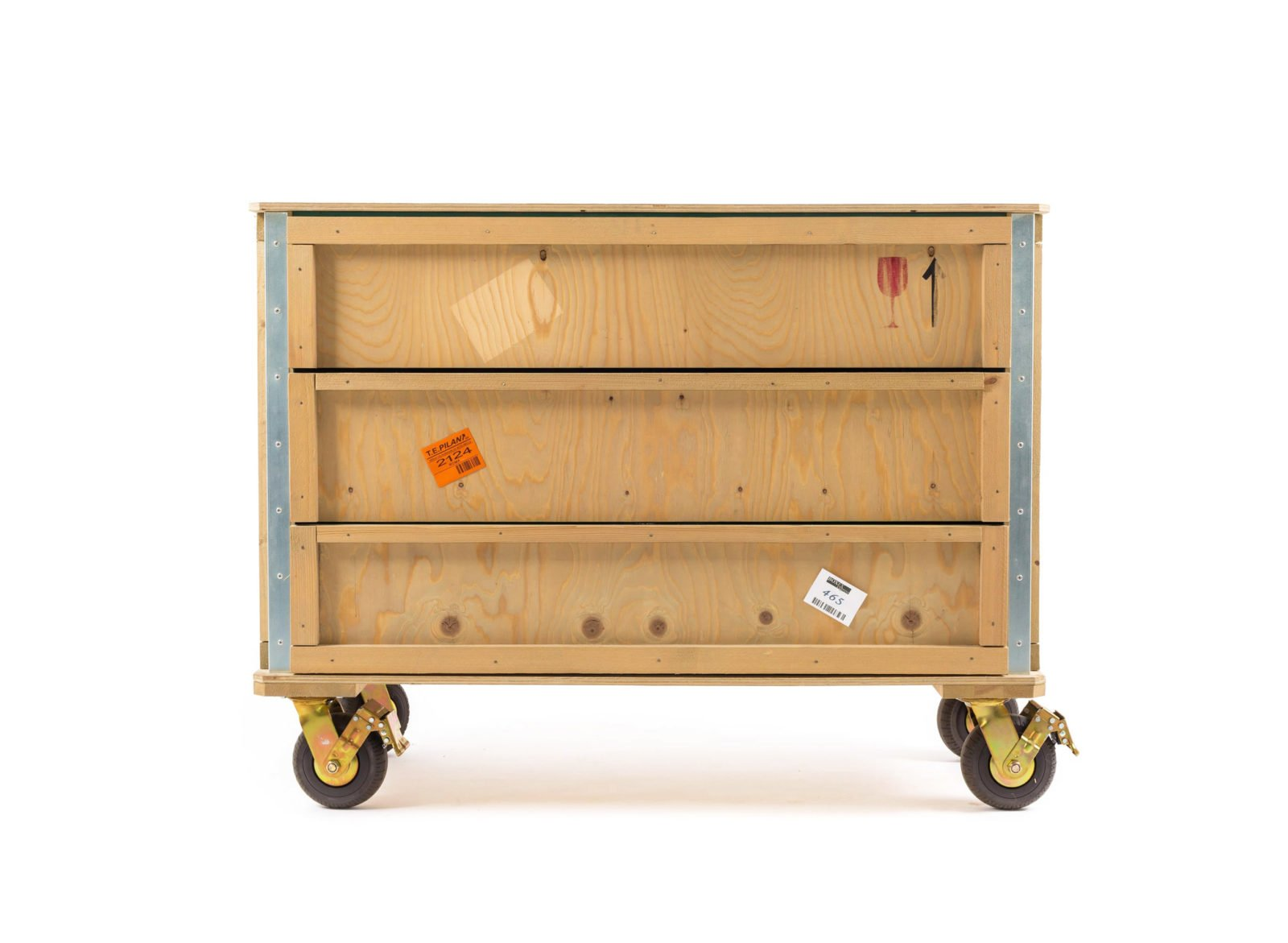 Export Como Chest of 3 Drawers – Wheels-32122