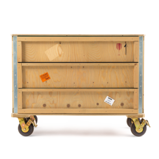 Export Como Chest of 3 Drawers - Wheels-0
