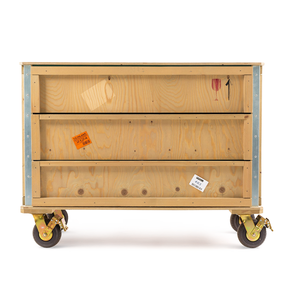 Export Como Chest of 3 Drawers – Wheels-0