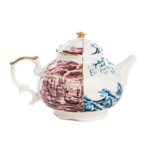 Seletti Hybrid Collection, Smeraldina Teapot-0