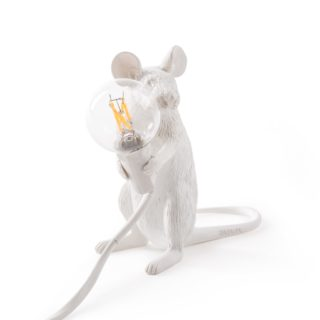 Mouse Lamp, Sitting -32537