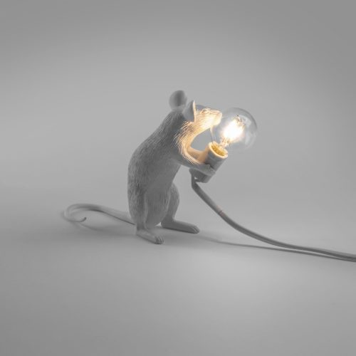 Mouse Lamp, Sitting -32538