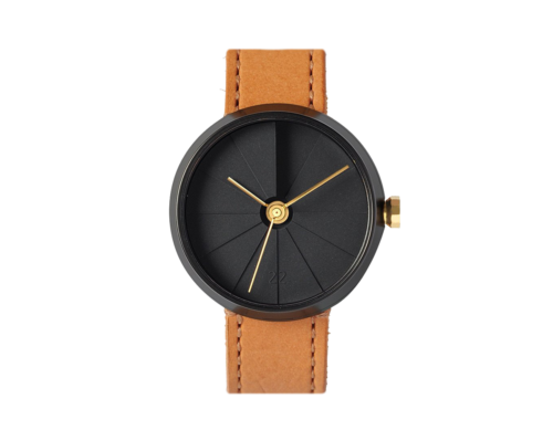 4th Dimension Concrete Wrist Watch, Midnight Edition-0
