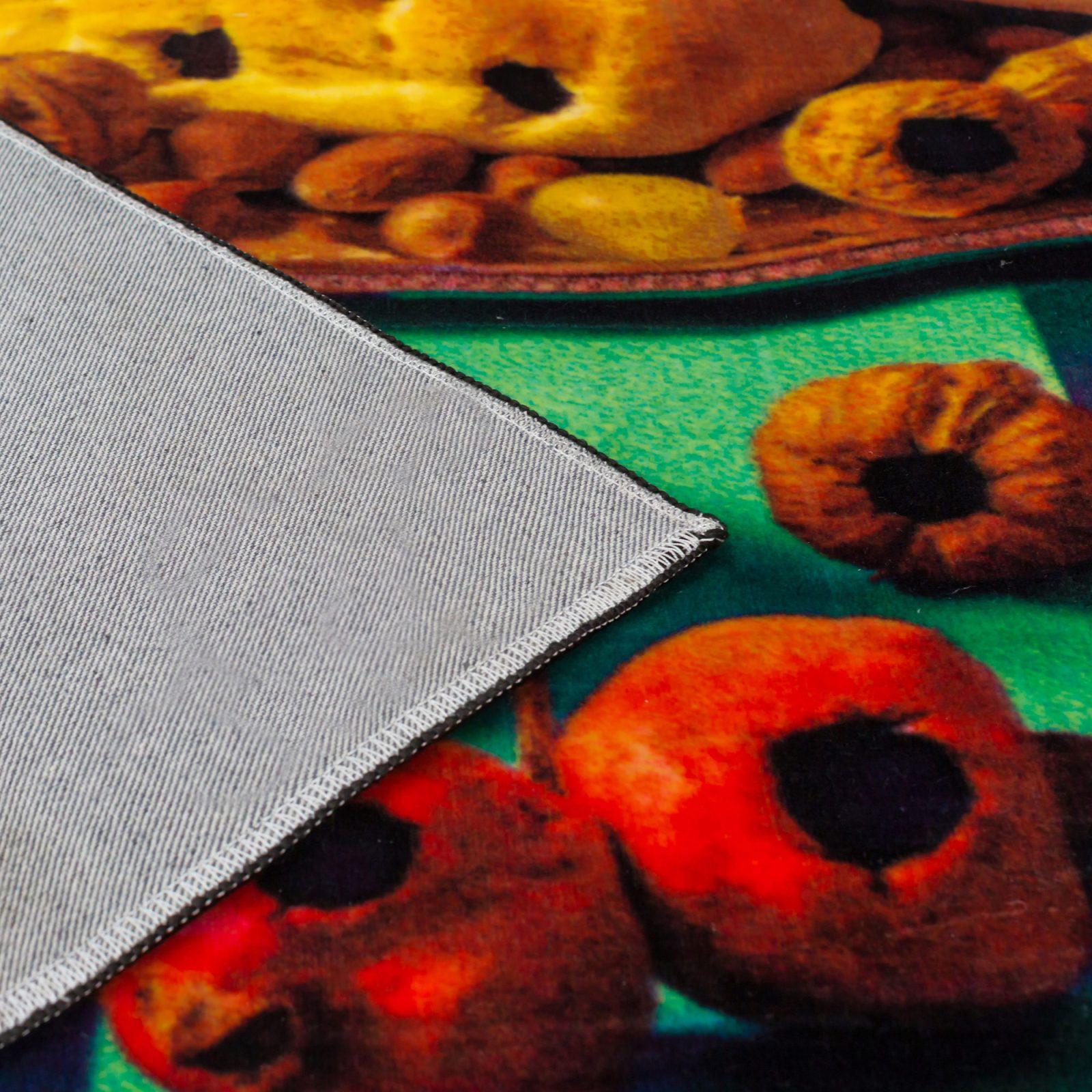 Rectangular Rug Food with Holes-33852