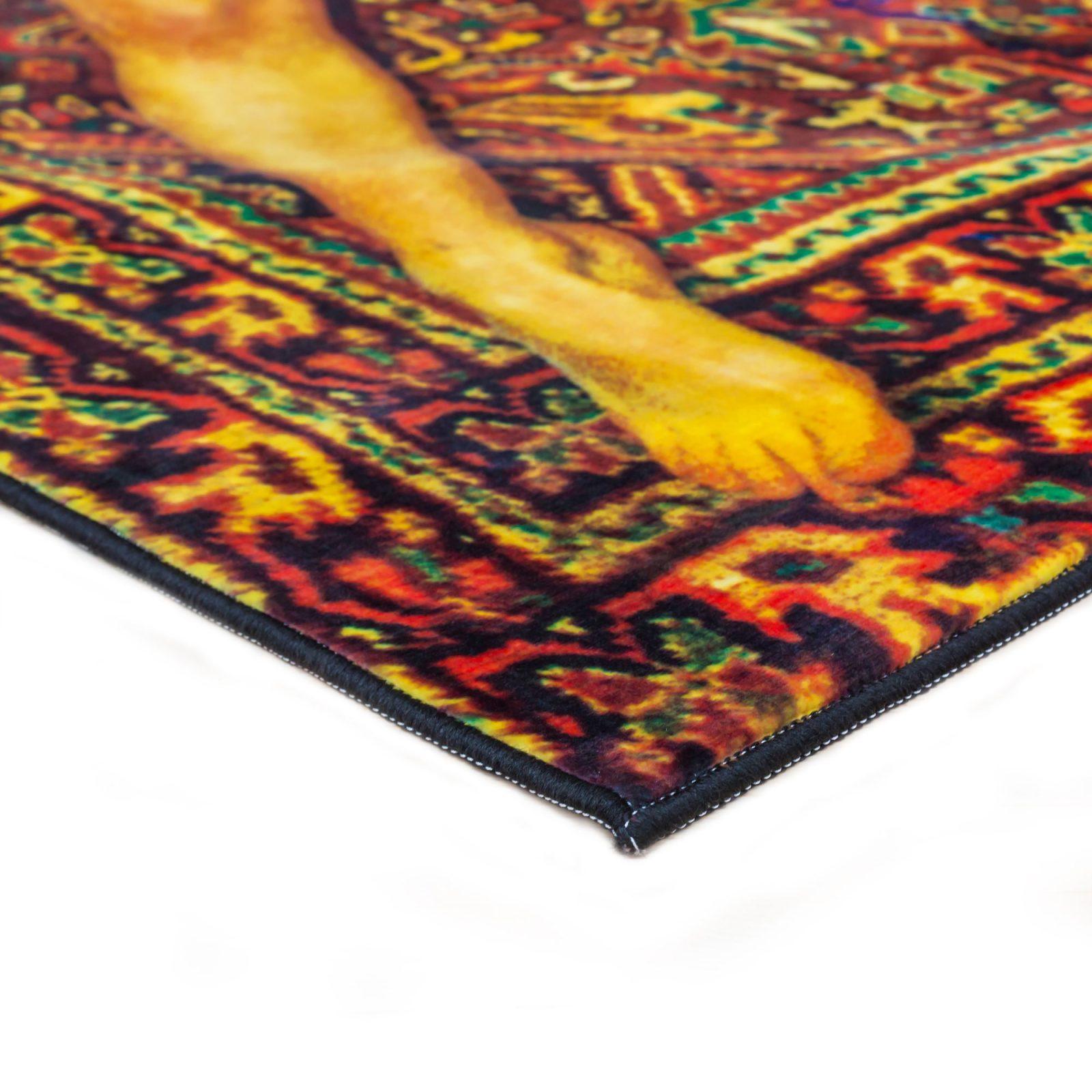 Rectangular Rug Lady on Carpet-33824