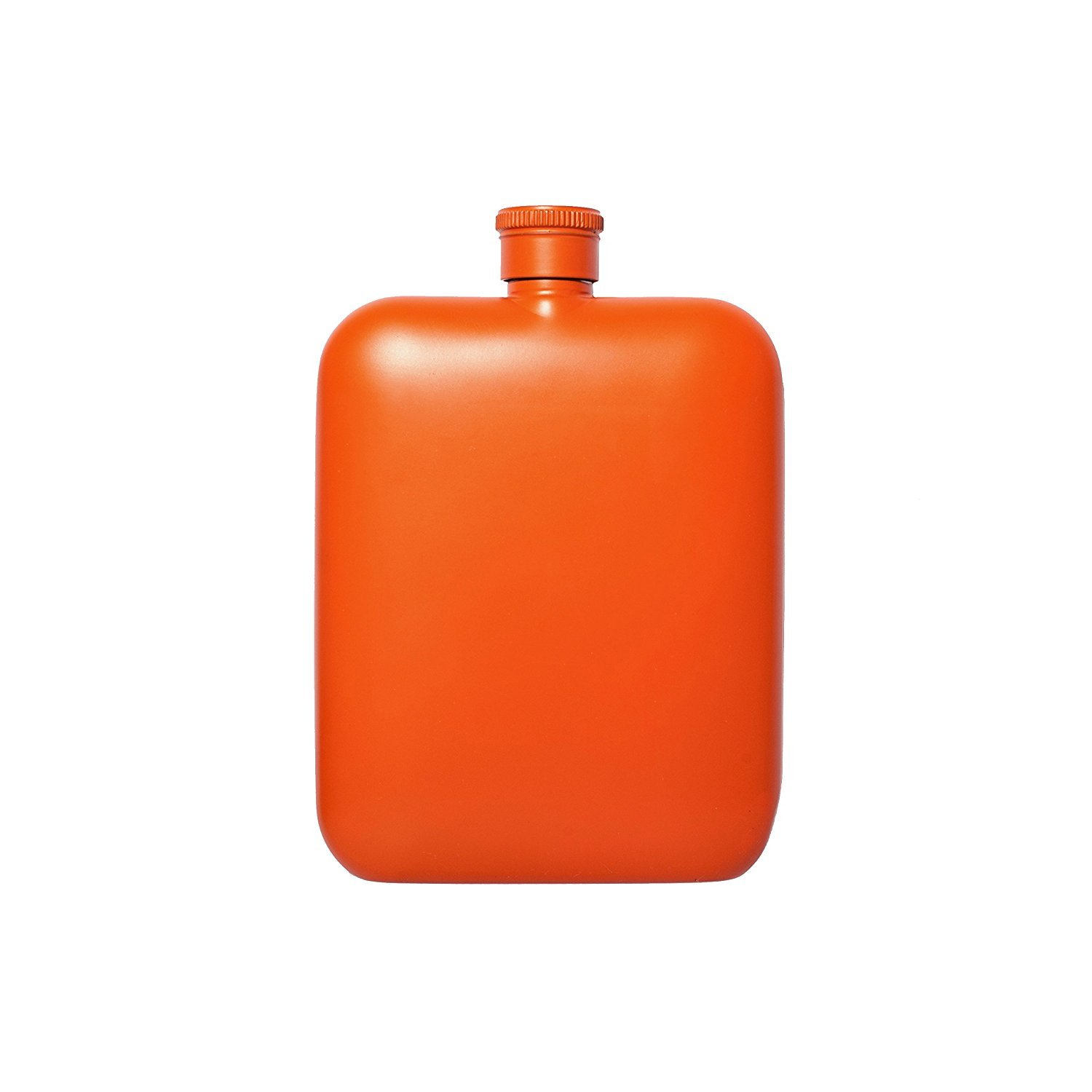 Flask with Canvas Carrier, Orange-34022