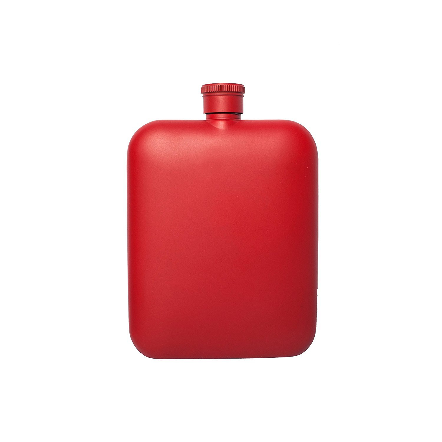 Flask with Canvas Carrier, Red-34005