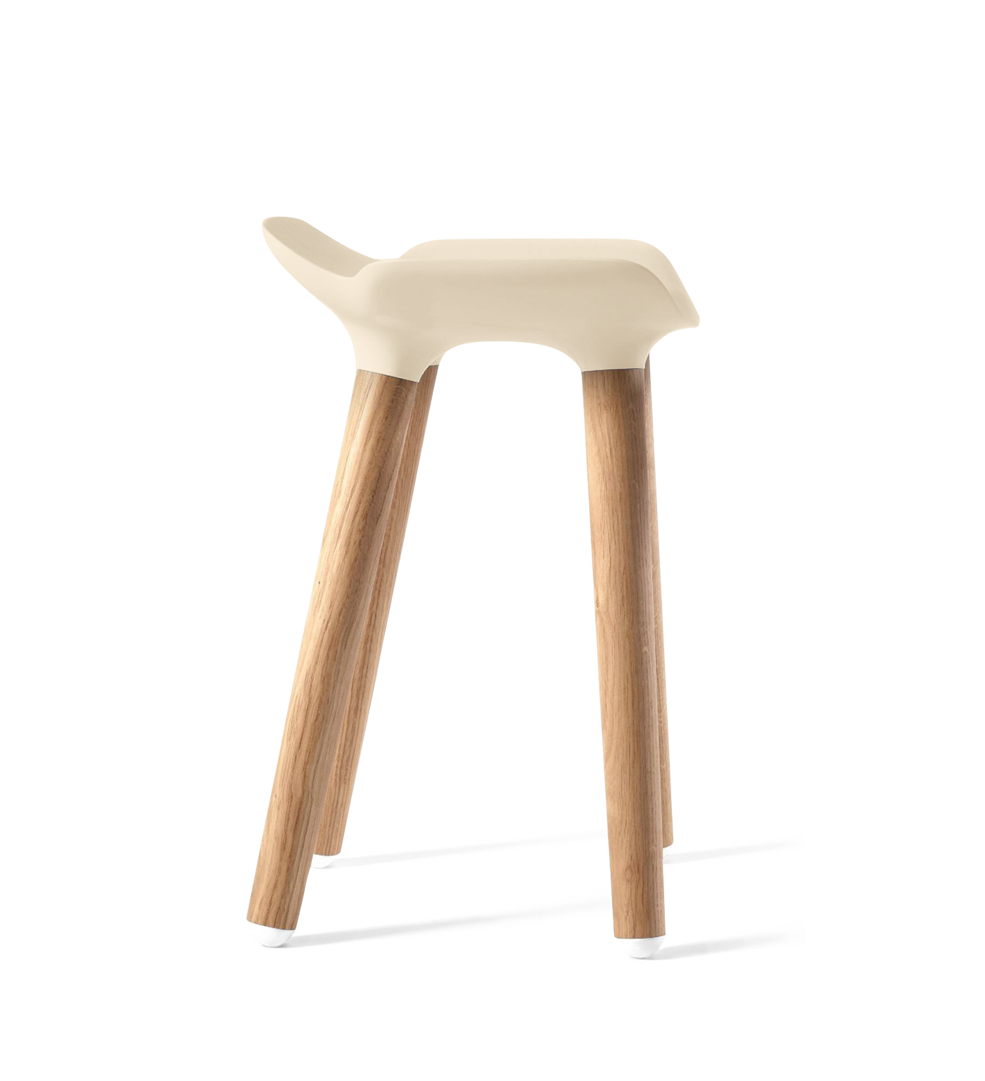 Pilot Stool by Quinze & Milan, Ivory-0