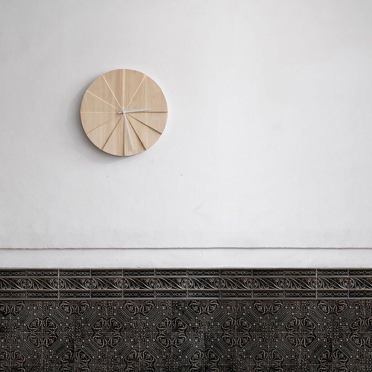 Scope Clock, Natural-34203