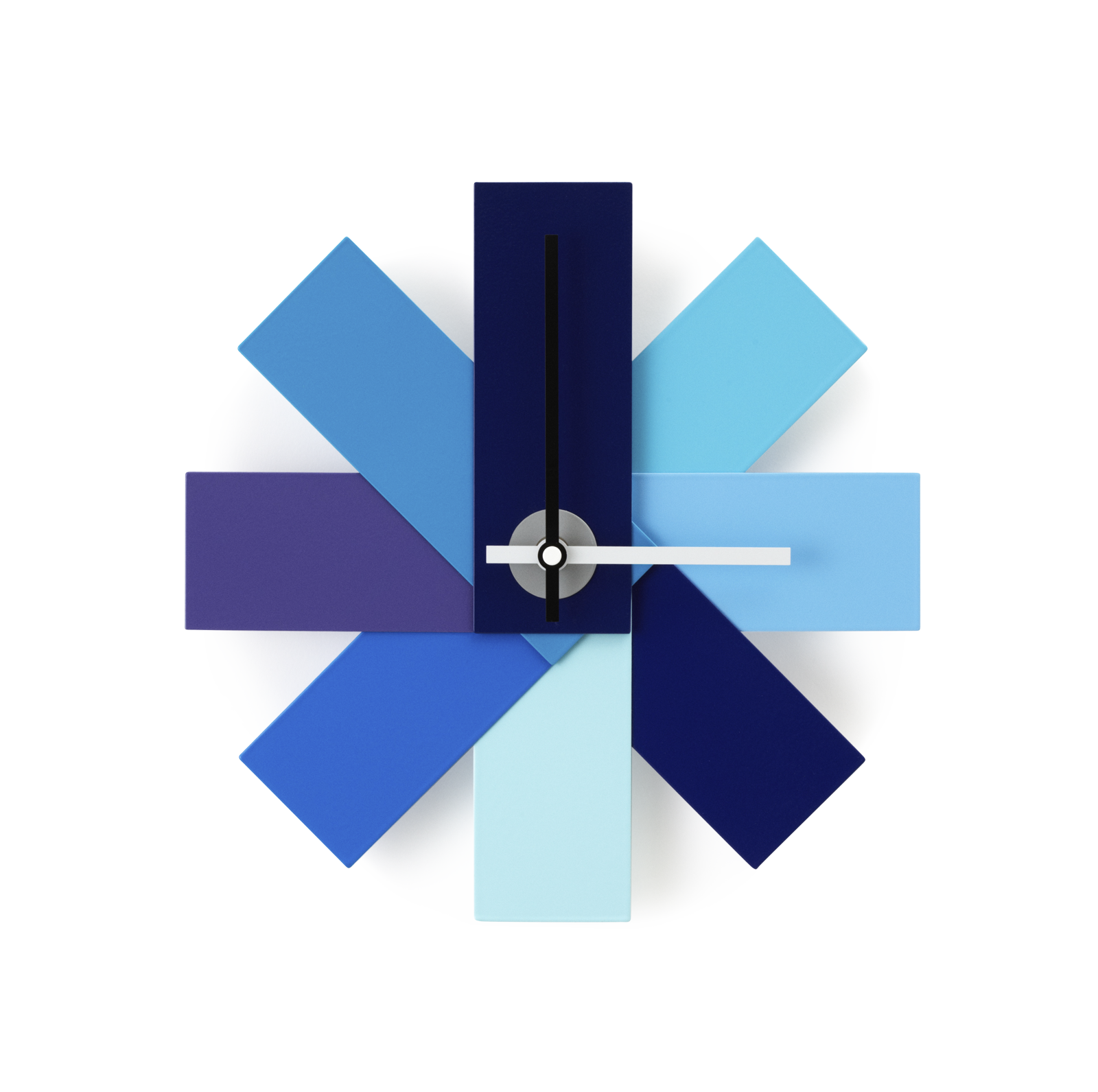 Watch Me Wall Clock, Blue-0