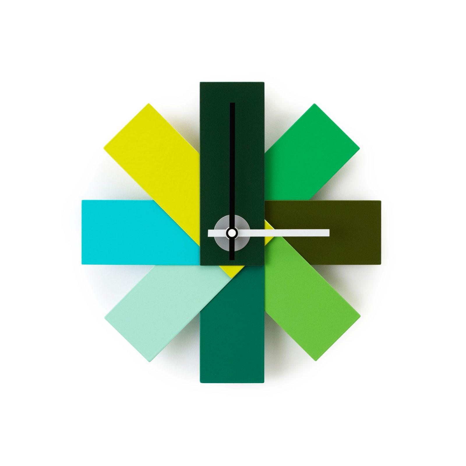 Watch Me Wall Clock, Green-34200