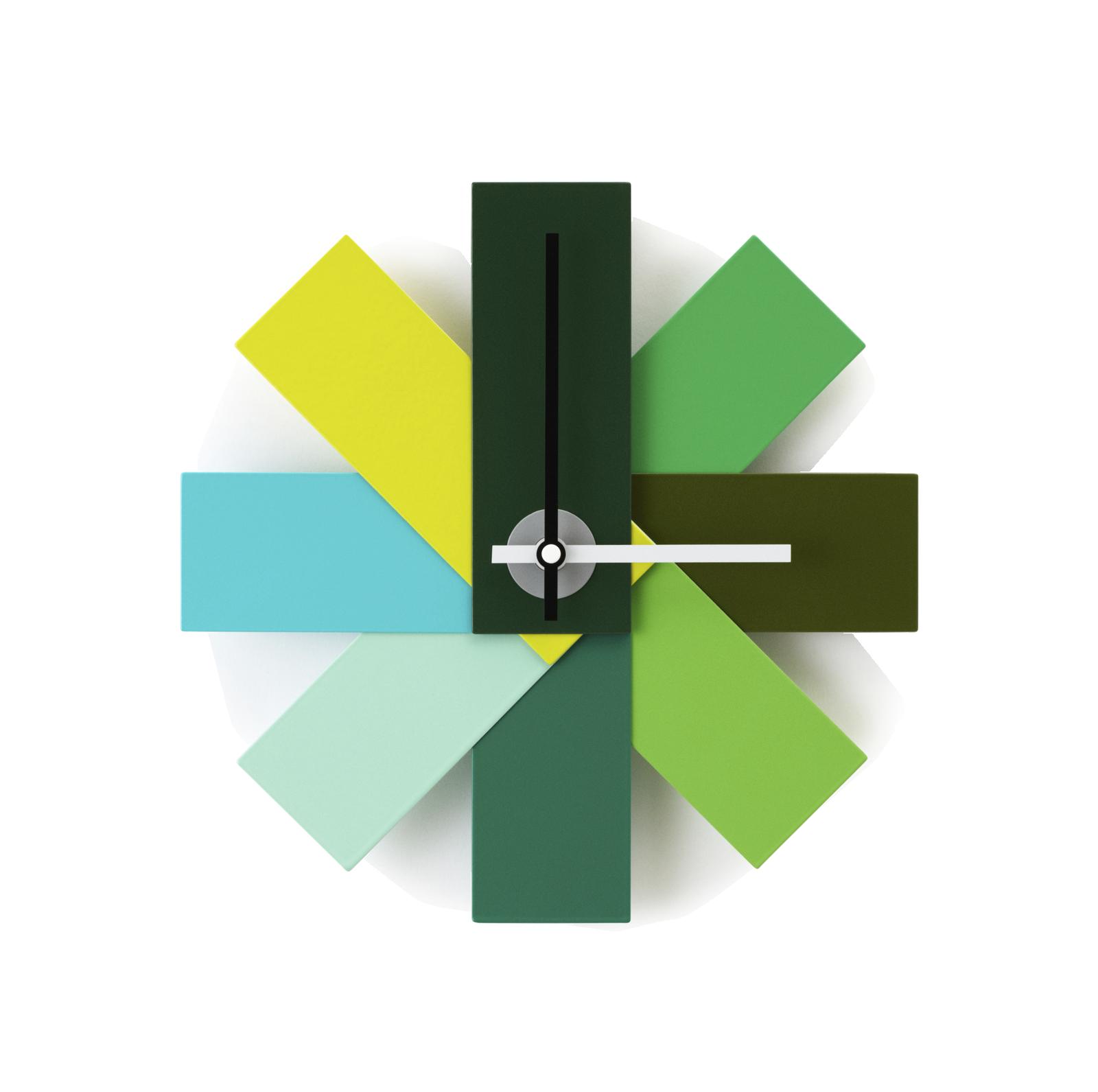 Watch Me Wall Clock, Green-0