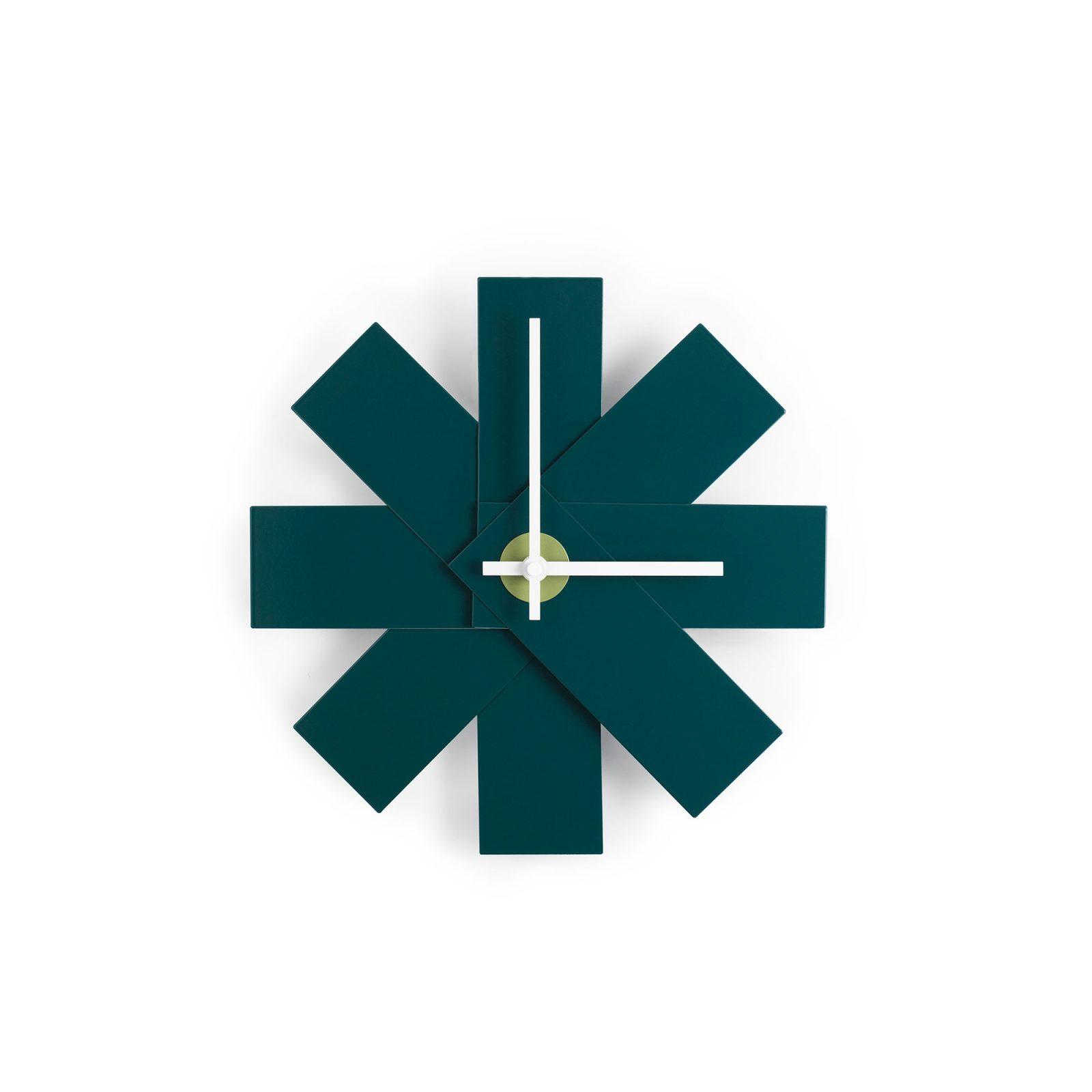Watch Me Wall Clock, Petrol-34195