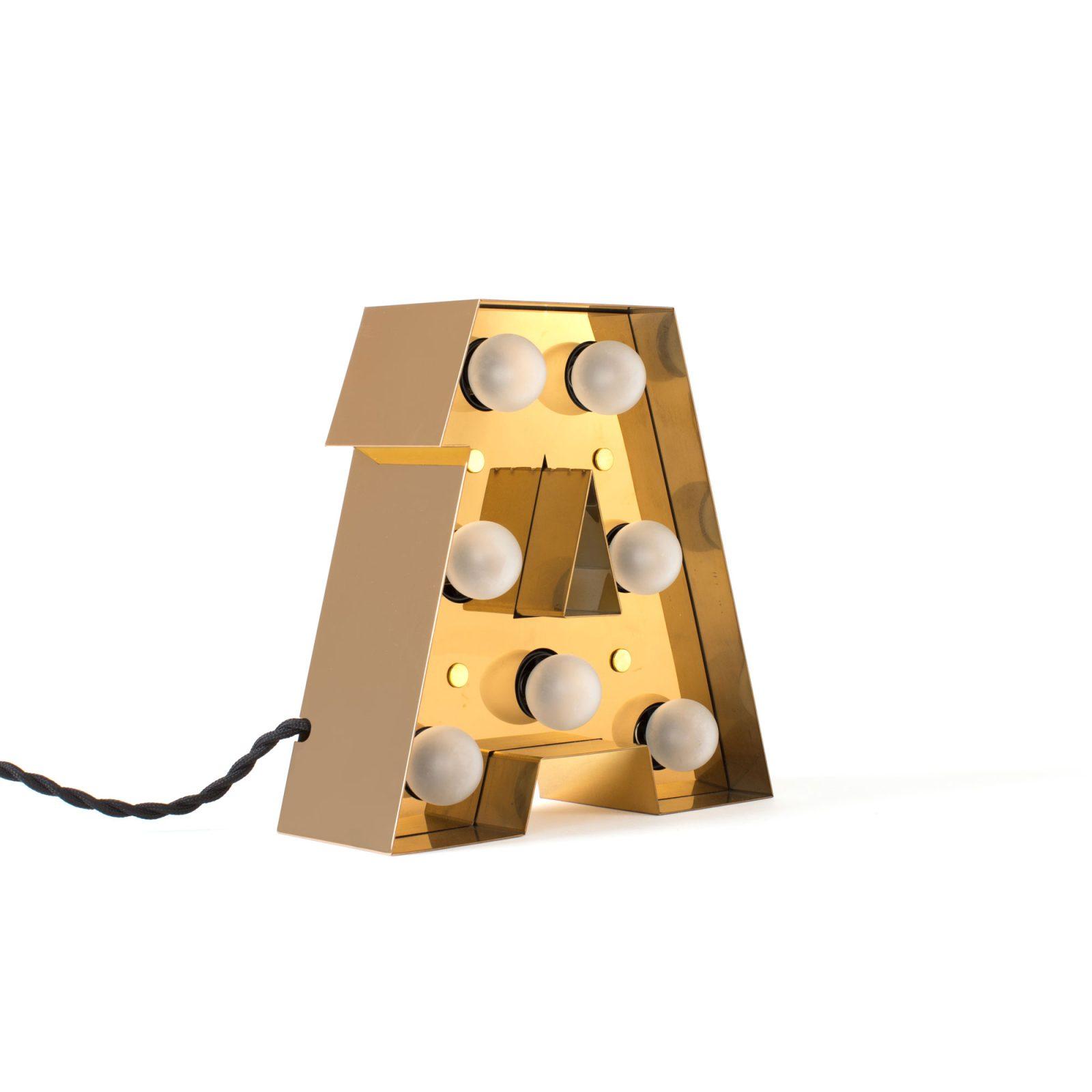 Caractère Alphabet Lights, A-34451