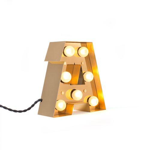 Caractère Alphabet Lights, A-34452