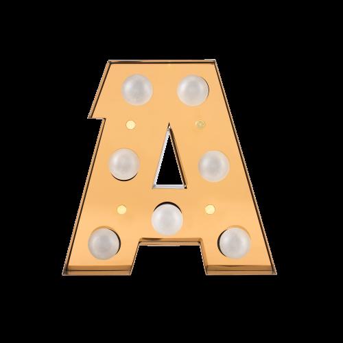 Caractère Alphabet Lights, A-0