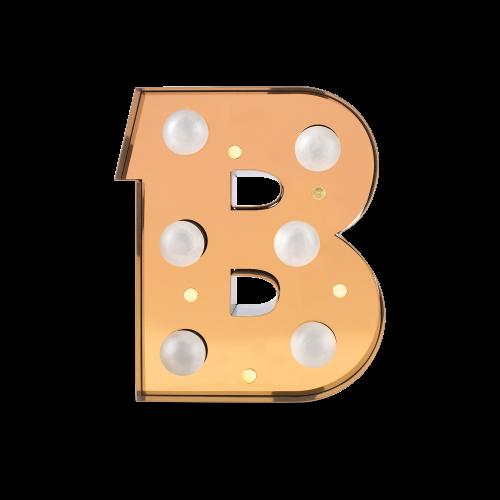 Caractère Alphabet Lights, B-0