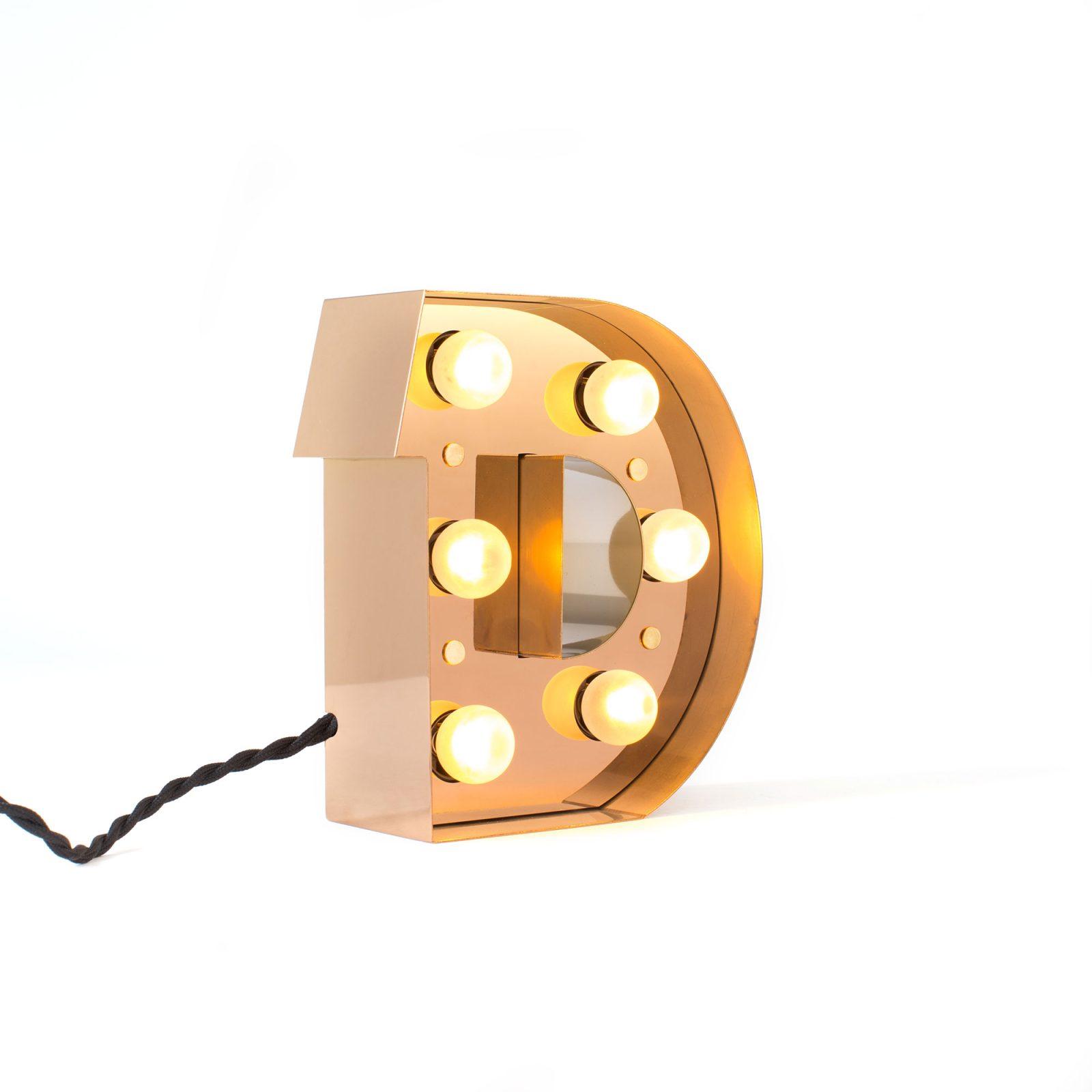 Caractère Alphabet Lights, D-34470