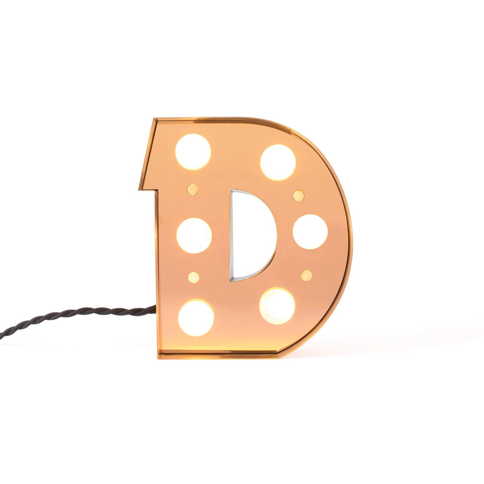 Caractère Alphabet Lights, D-34473