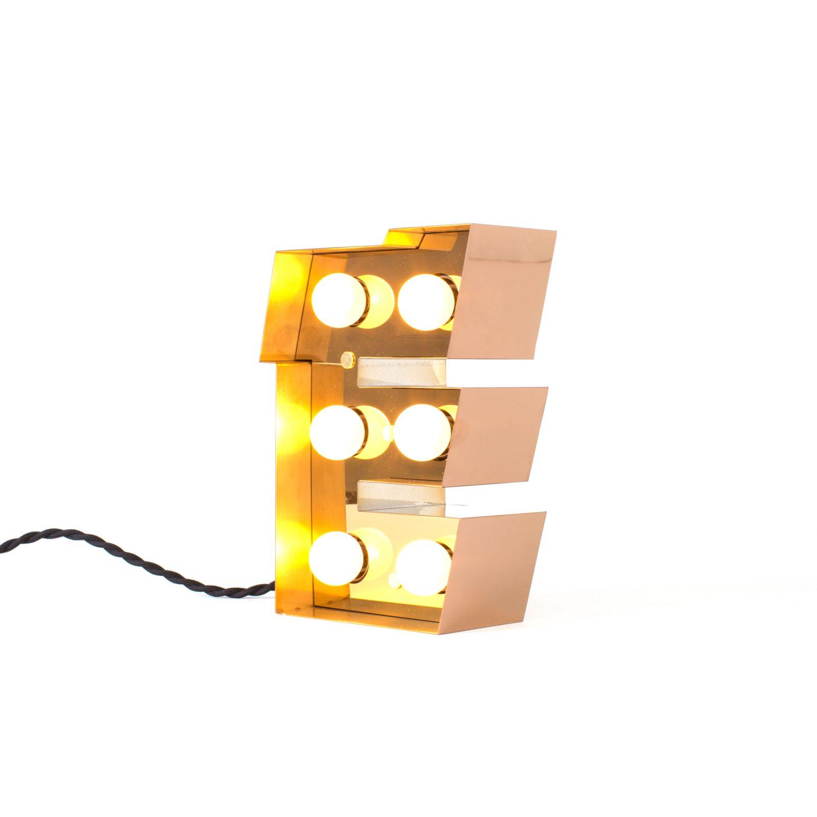 Caractère Alphabet Lights, E-34476