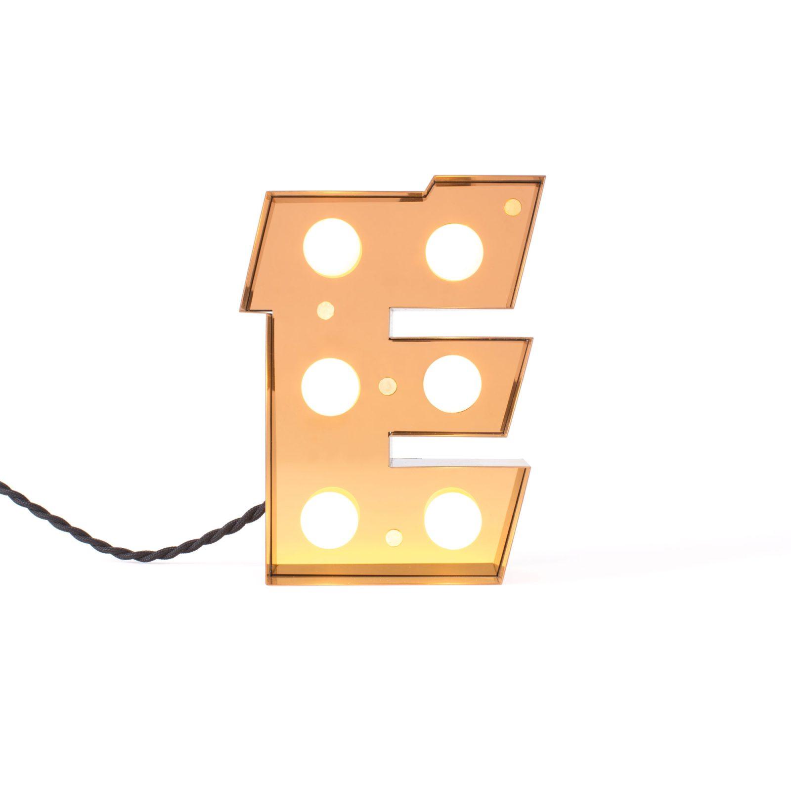 Caractère Alphabet Lights, E-34477
