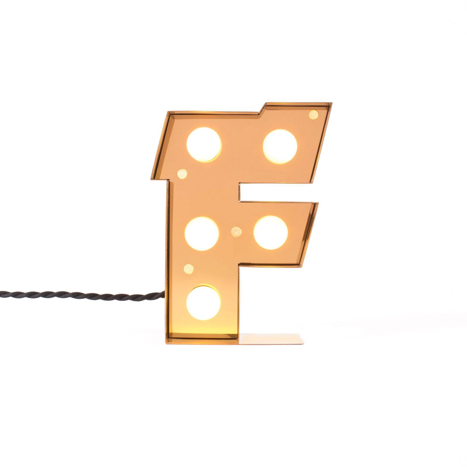 Caractère Alphabet Lights, F-34482