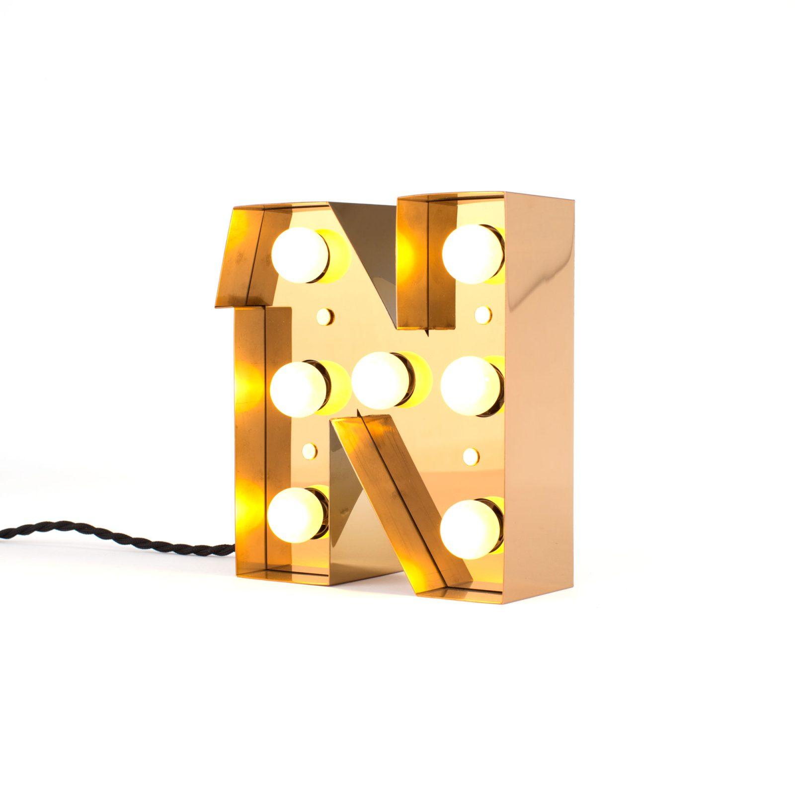 Caractère Alphabet Lights, N-34535