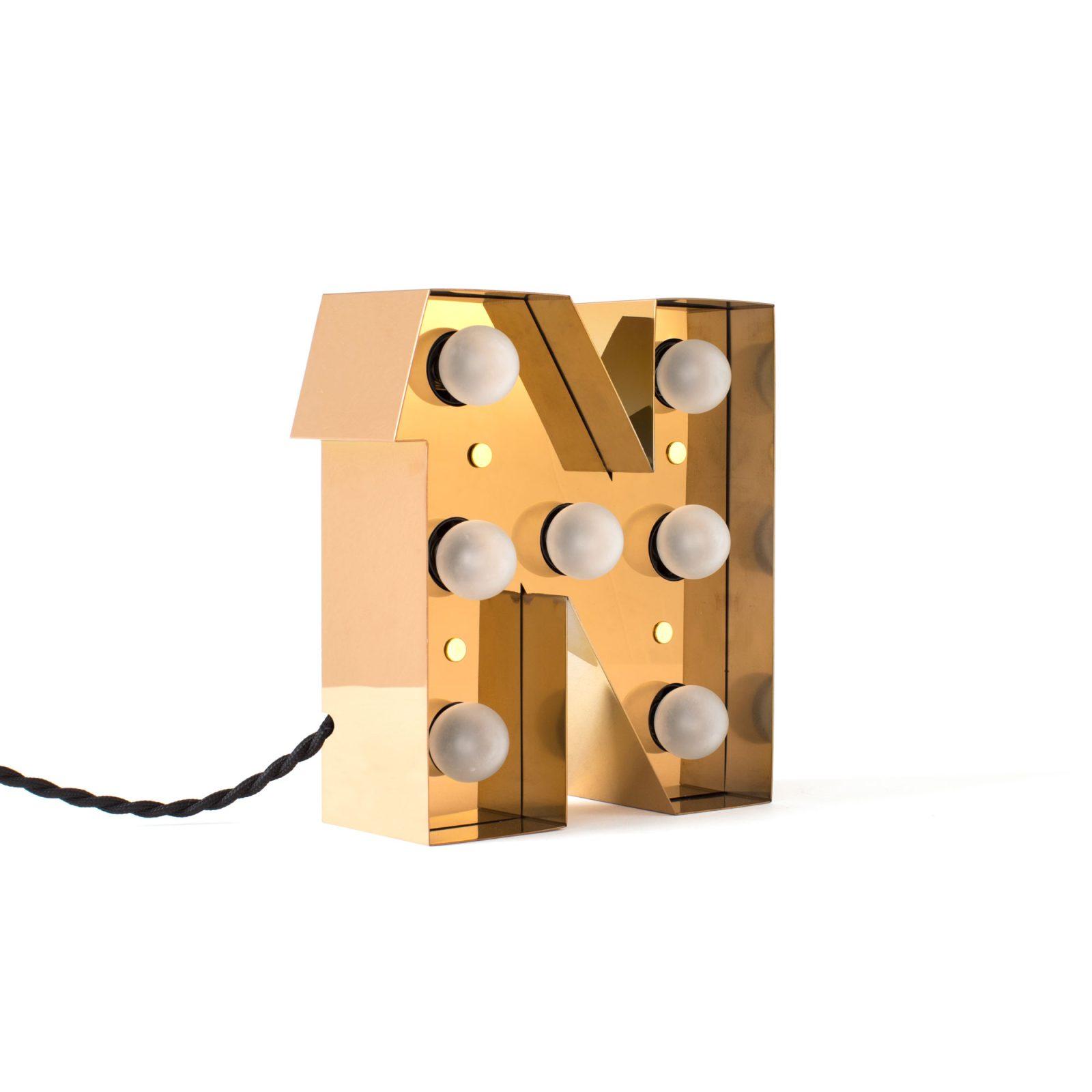Caractère Alphabet Lights, N-34537