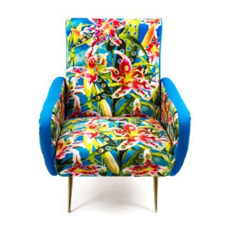 Armchair Flowers with Holes-34412