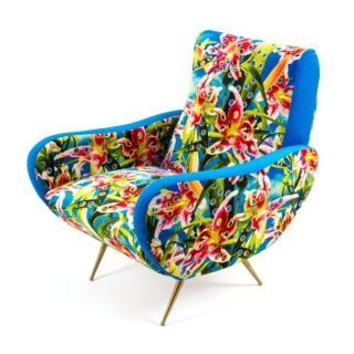 Armchair Flowers with Holes-34415