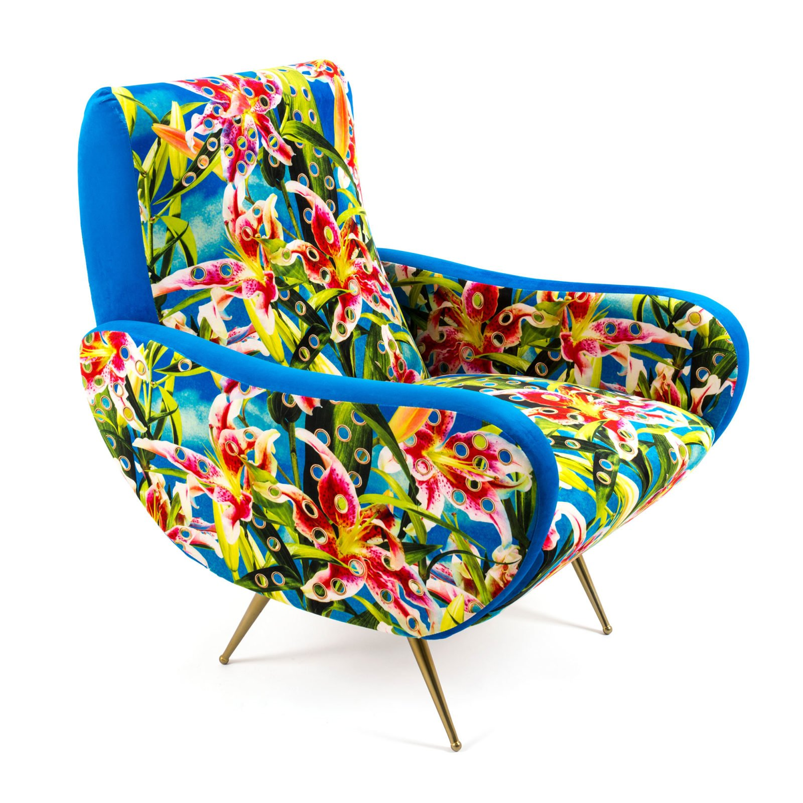 Armchair Flowers with Holes-34419