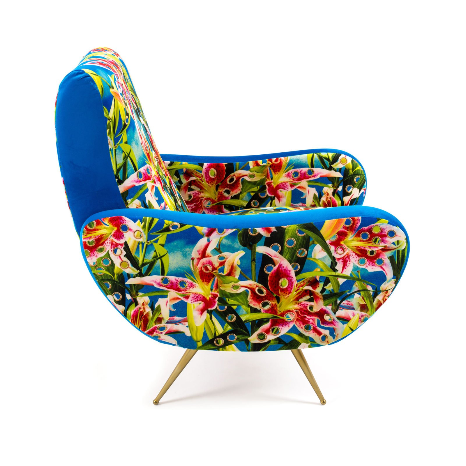 Armchair Flowers with Holes-34413