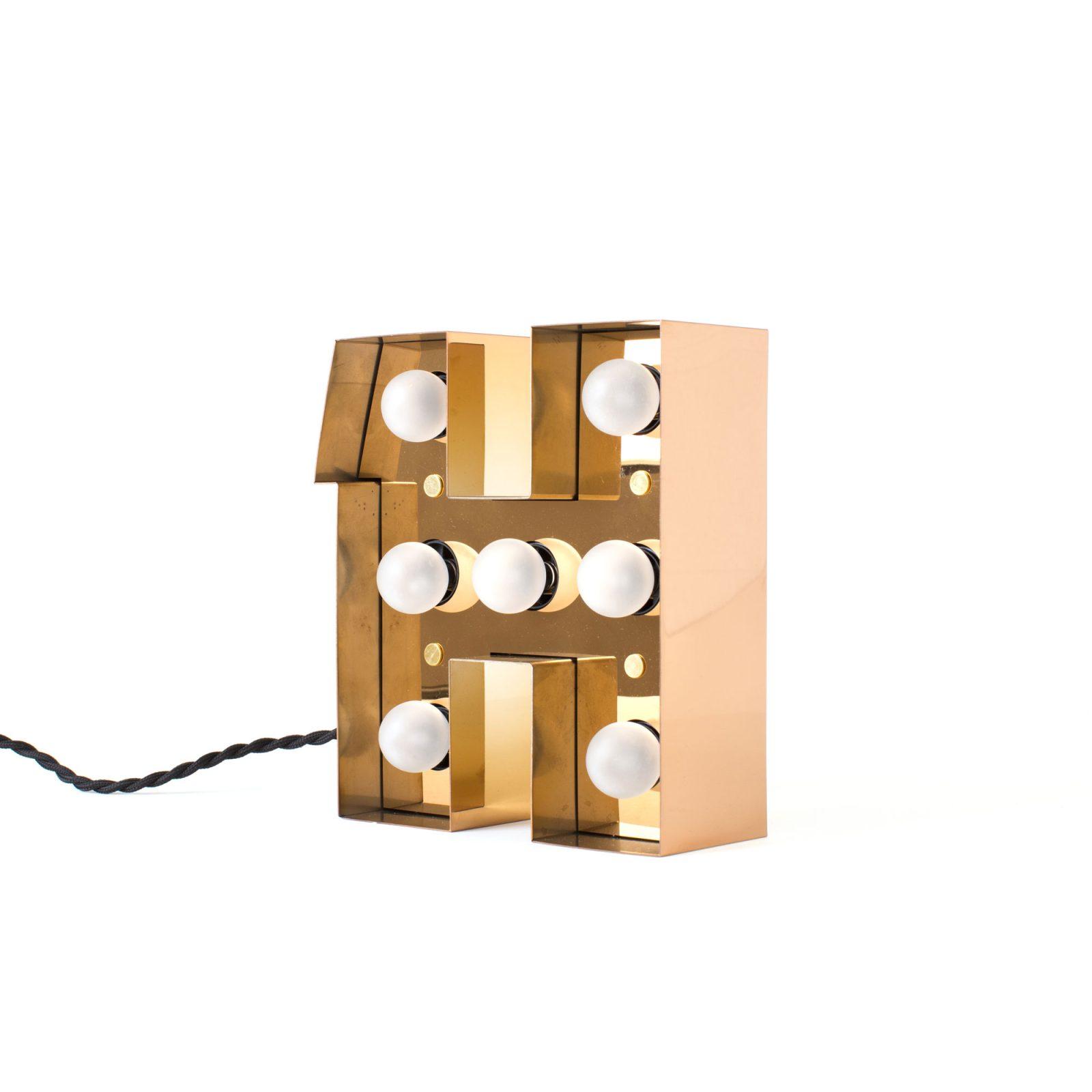 Caractère Alphabet Lights, H-34613