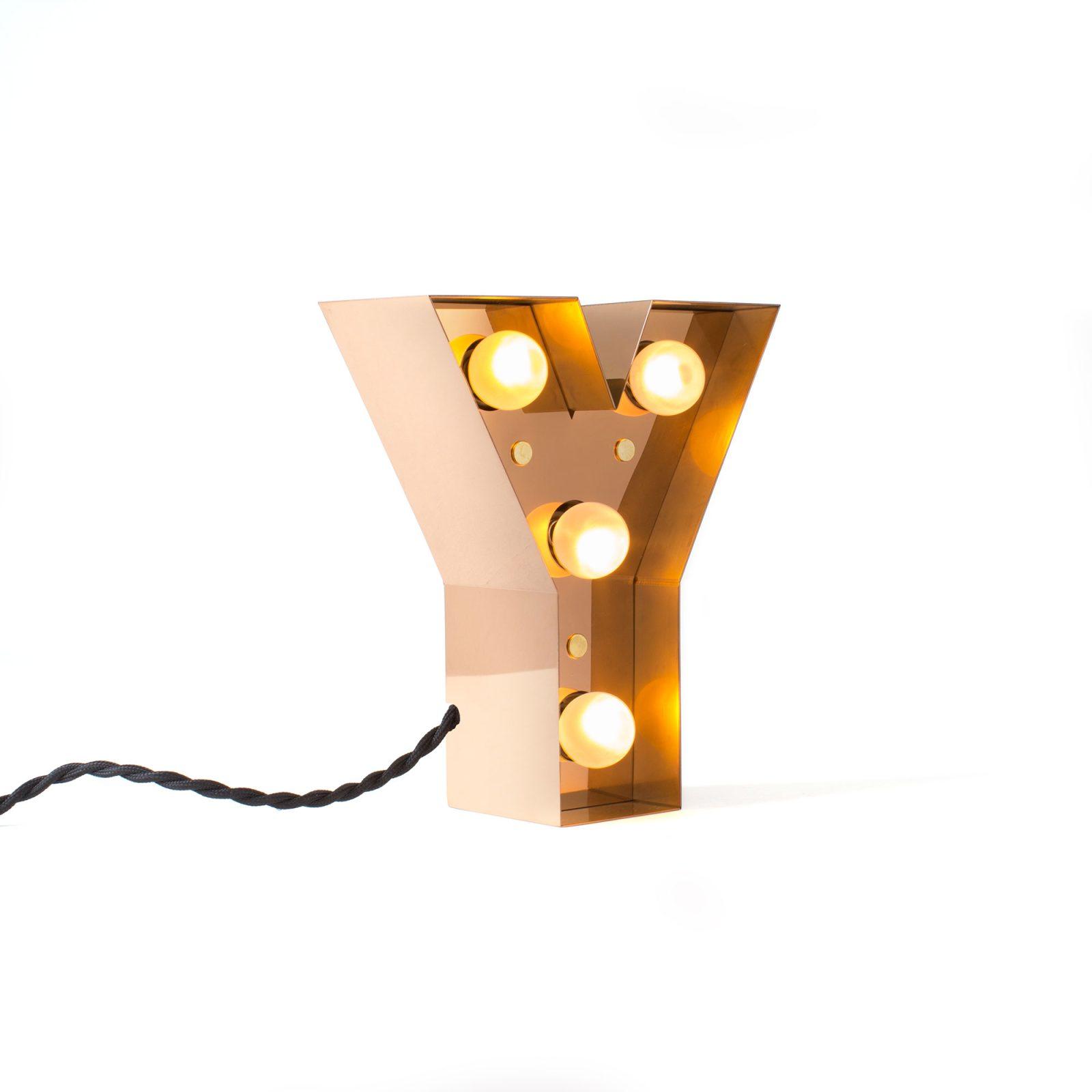 Caractère Alphabet Lights, Y-34844