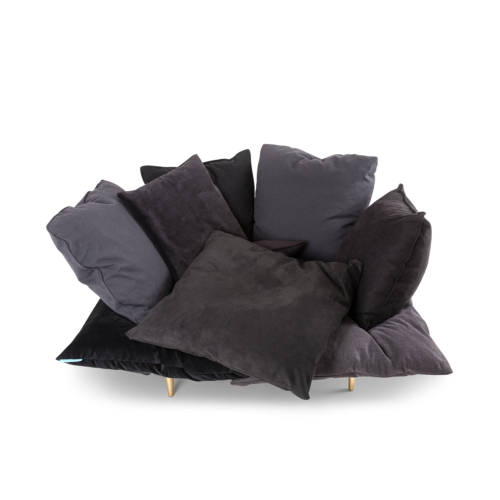 Comfy Armchair, Charcoal Grey-0