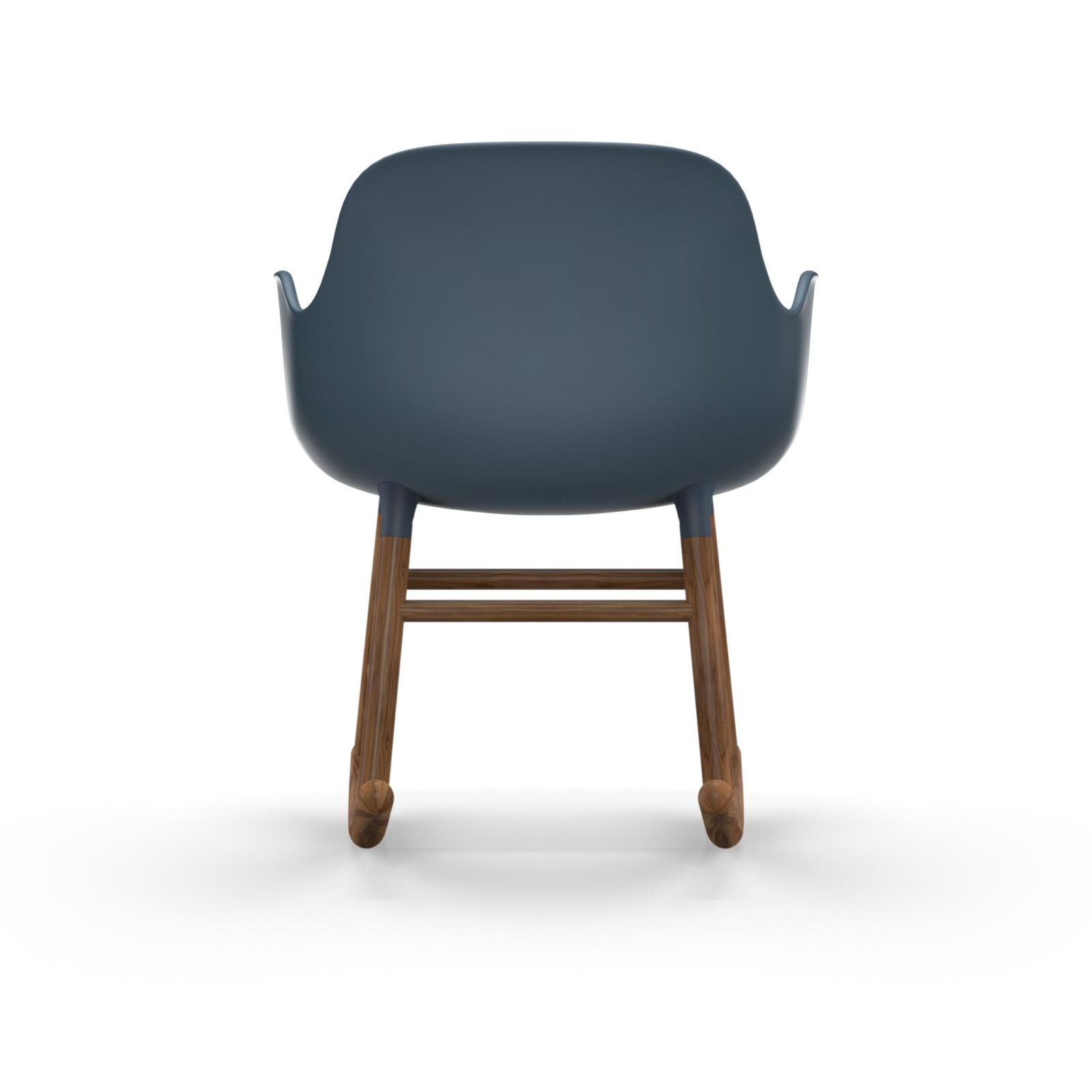 Form Rocking Armchair, Blue-35037