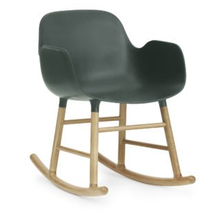 Form Rocking Armchair, Green-35039