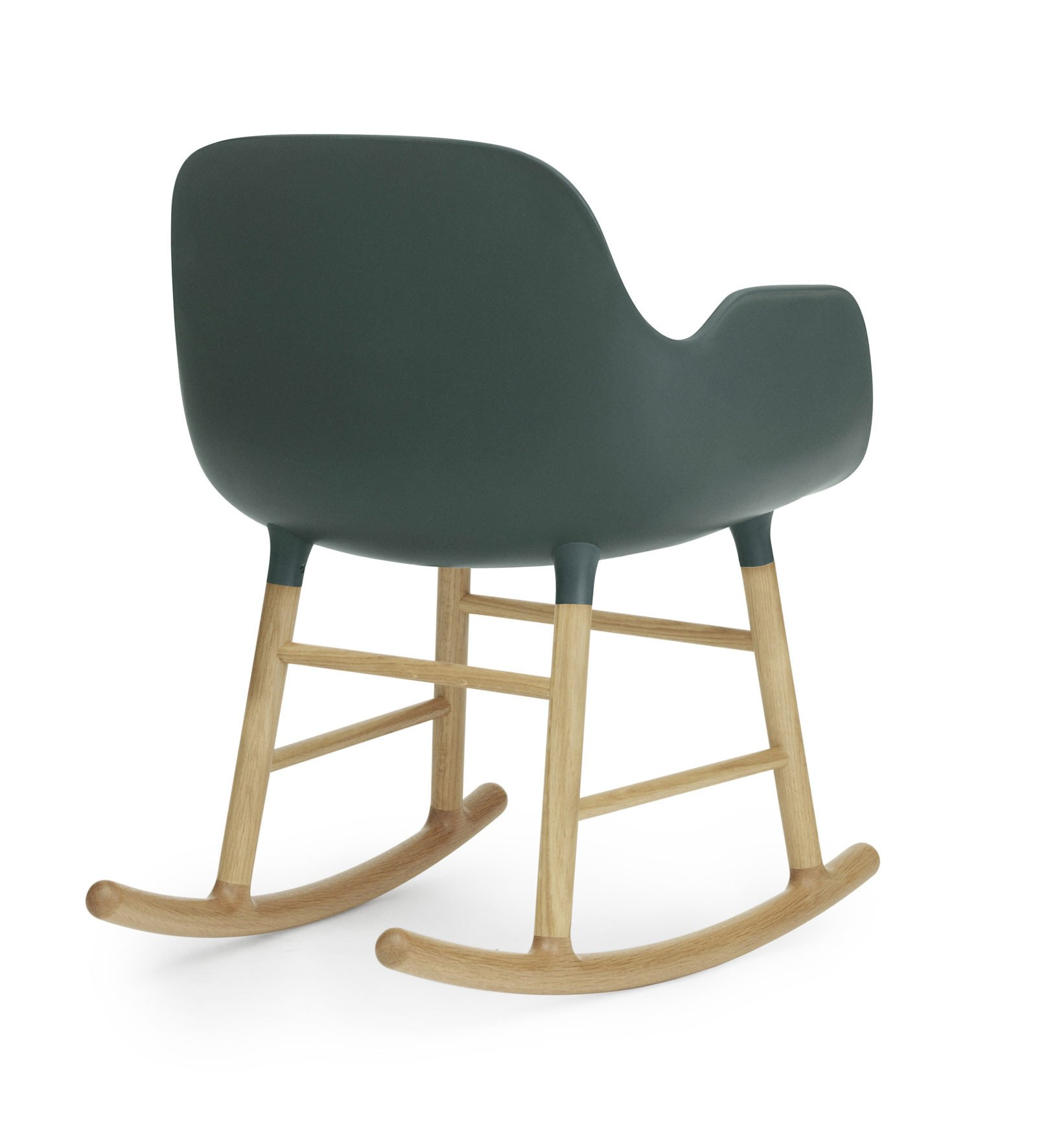 Form Rocking Armchair, Green-35042