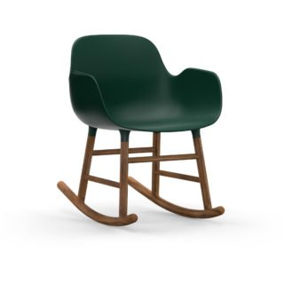Form Rocking Armchair, Green-35043