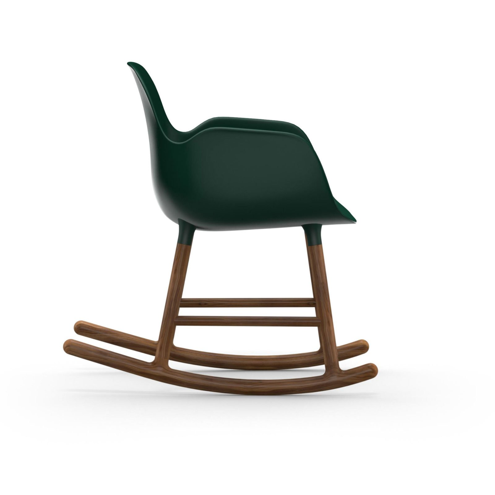 Form Rocking Armchair, Green-35045
