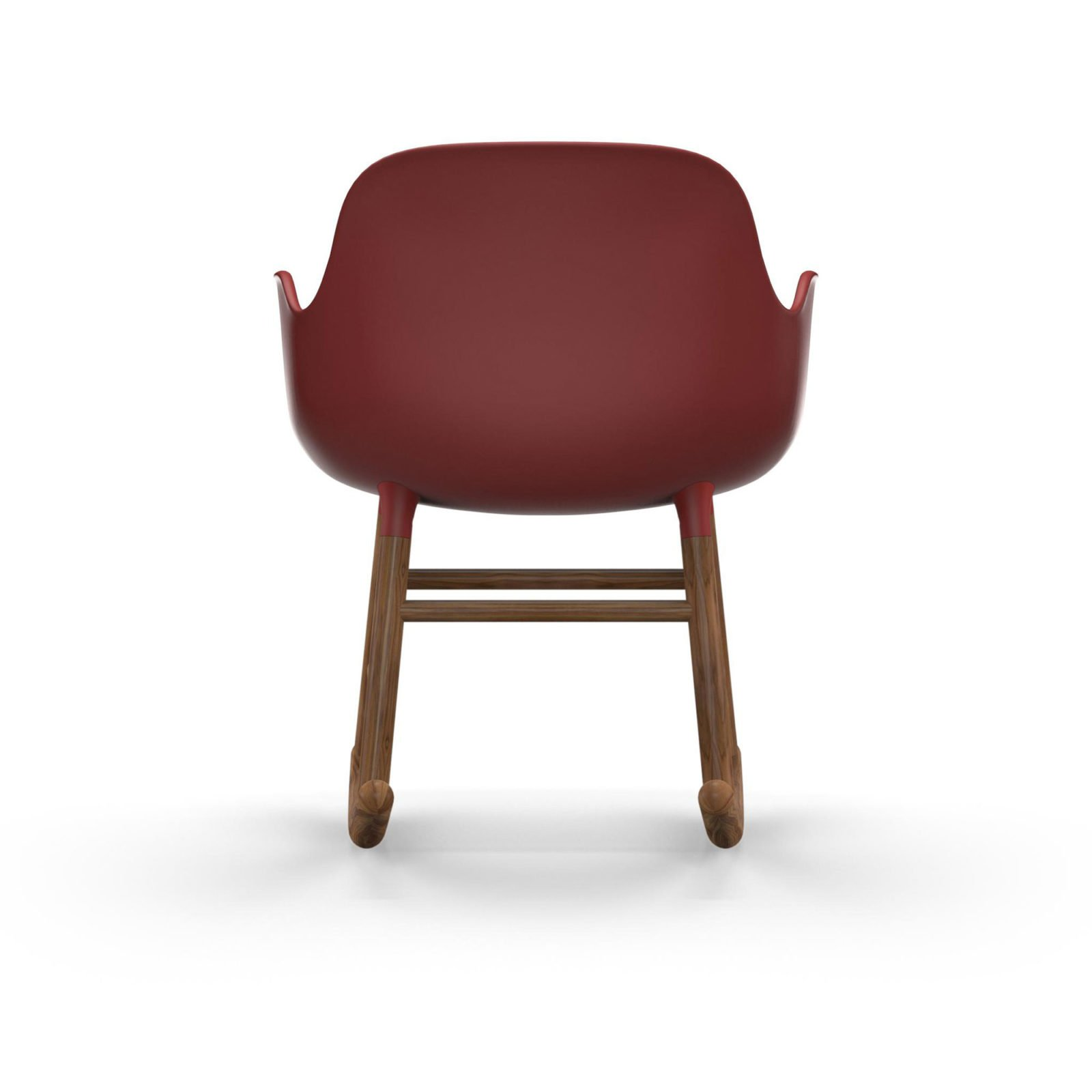 Form Rocking Armchair, Red-35054