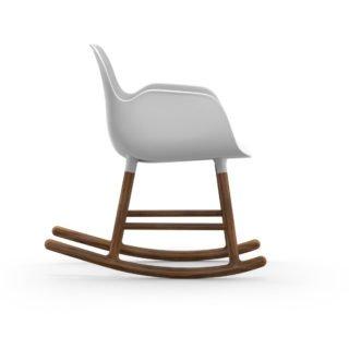 Form Rocking Armchair, White-35009