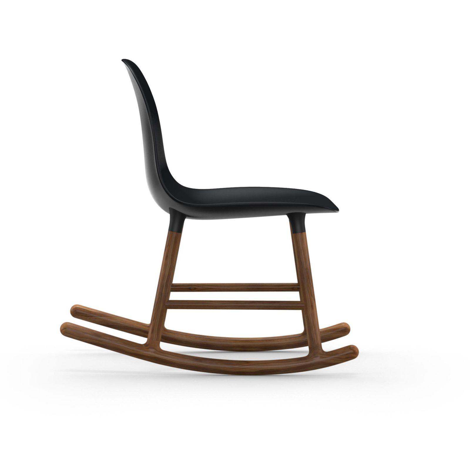 Form Rocking Chair, Black-34957