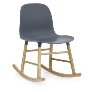 Form Rocking Chair, Blue-34961